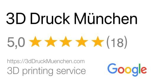 3D Druck München Bewertung