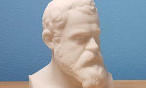 Büste aus dem 3D-Drucker
