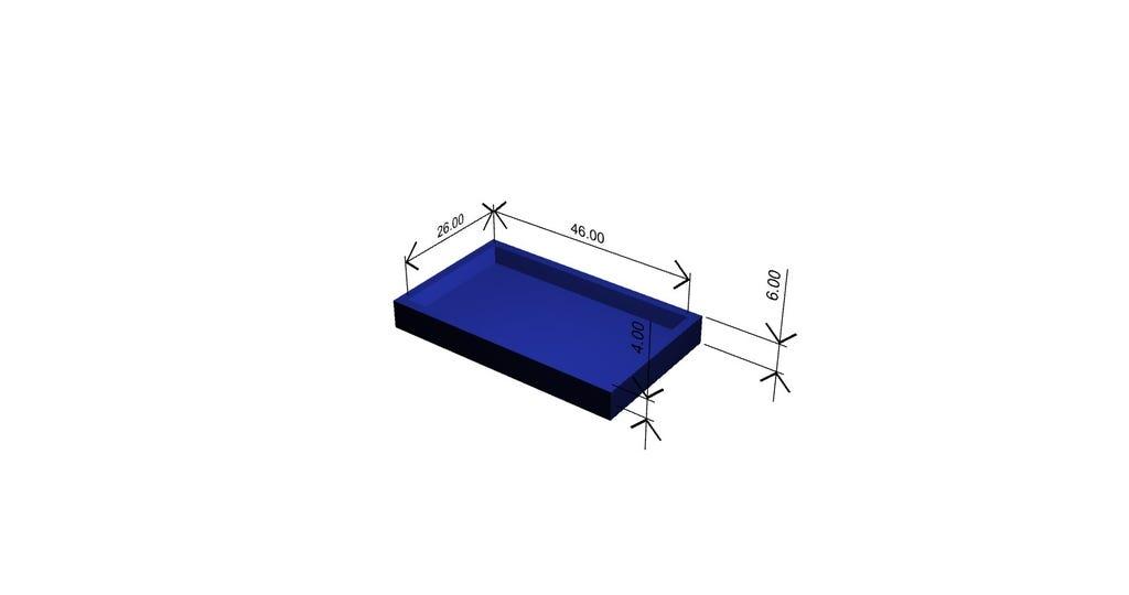 Renderbild Animation Ersatzteil Sonderanfertigung 3D-Druck mit Konstruktion und Bemaßung