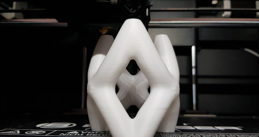 gedruckte 3D Tasse
