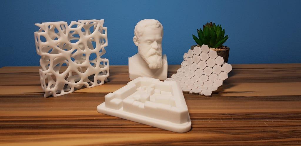 3D-Druck mit PMMA (Plexiglas)