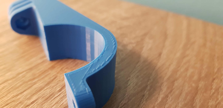 3D Druck Überextrusion