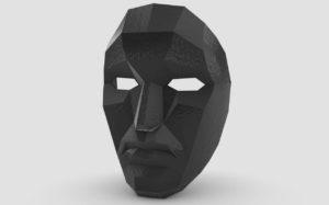 3D gedruckte Maske